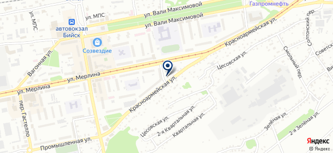 Лигаинструмент на карте