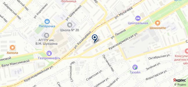 МотоТехника на карте