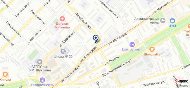 Сибирь-СБ на карте