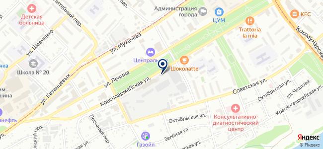 Электропечь, ОАО на карте