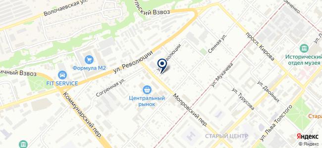 МОЛОТ-ОК на карте