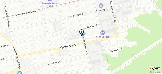 Аргон на карте