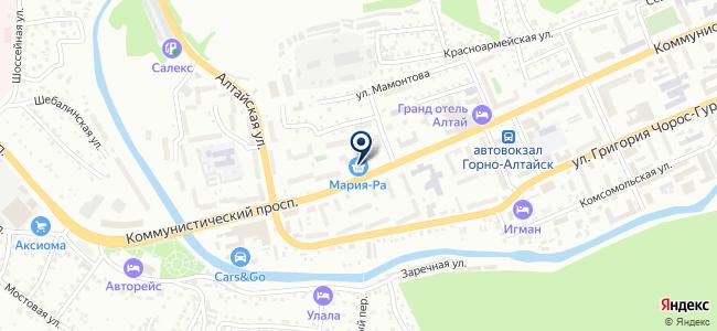 Центр цифрового телевидения на карте