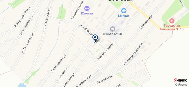 Магазин средств связи и комплектующих для компьютеров на карте