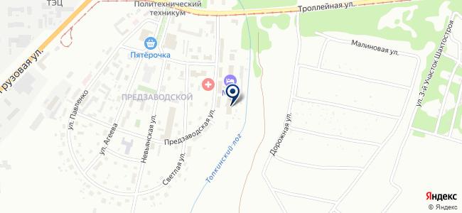 КемеровоЭнергоРесурс, ООО на карте