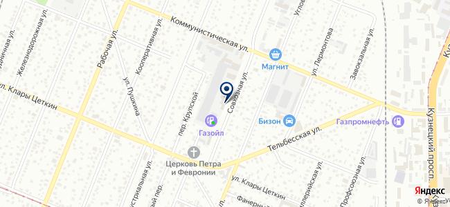 Восток-Сервис-Кузбасс, ЗАО на карте