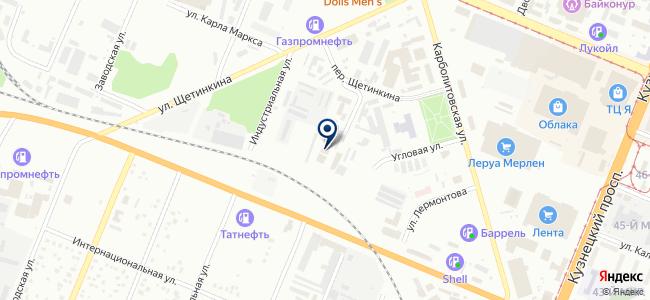Кенон, ООО на карте