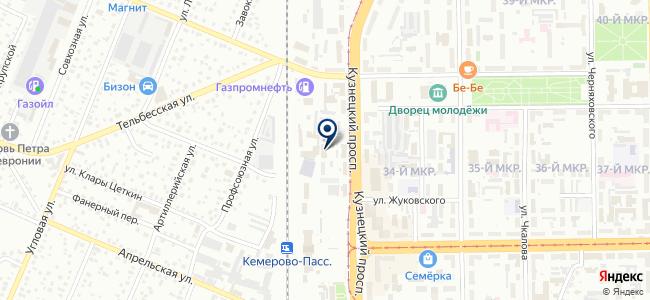 ССТ на карте