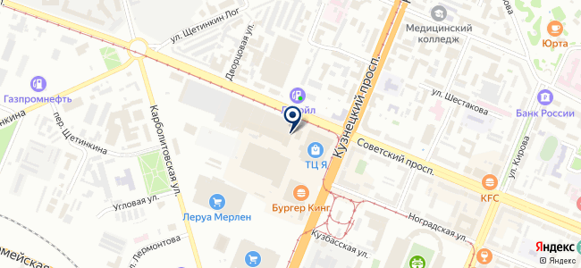 Электронные Бизнес Системы, ООО на карте