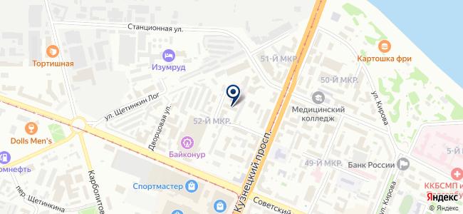 Kemerovoled.ru на карте