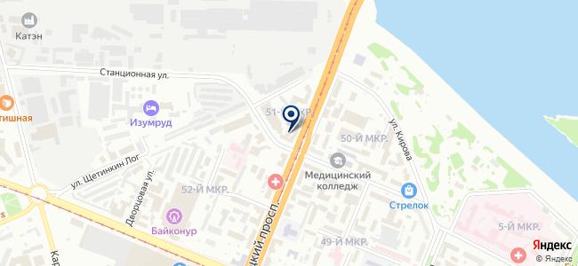 Ивушка на карте