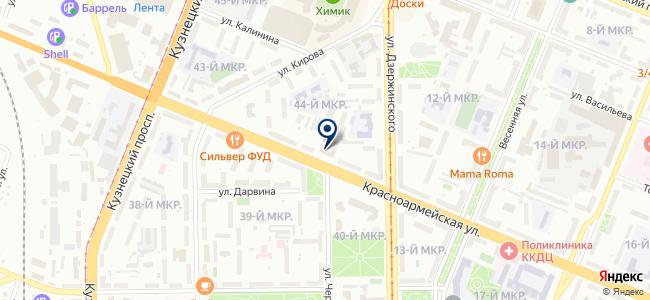 Квадратный метр, ООО на карте