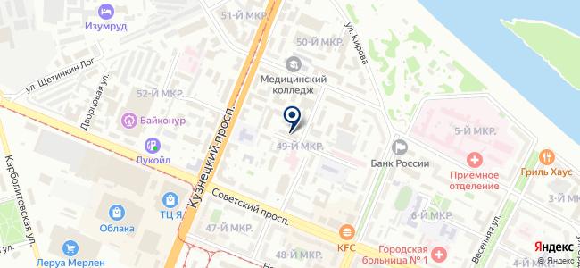 Промавтоматика, ЗАО на карте