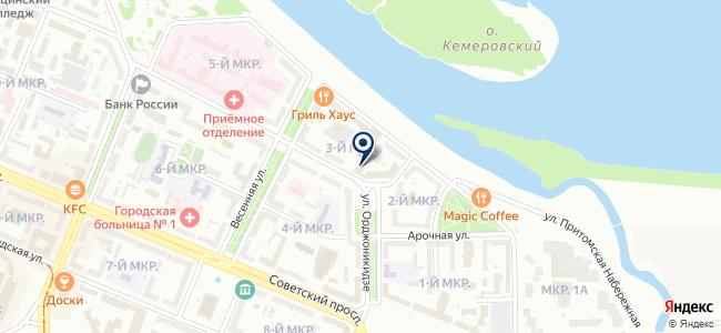 Контакт, ООО на карте