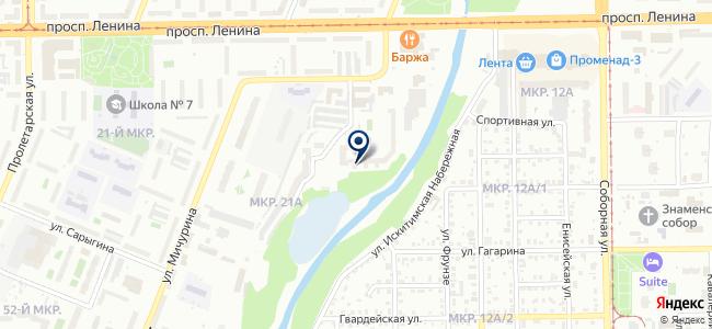Альтаир, ООО на карте