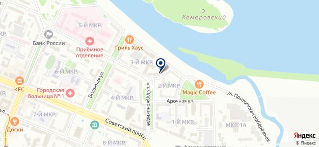 ЧЭАЗ-Сибирь на карте