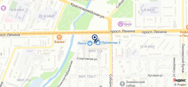 Дега на карте