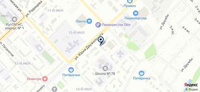 Сибирская строительная компания, ООО на карте