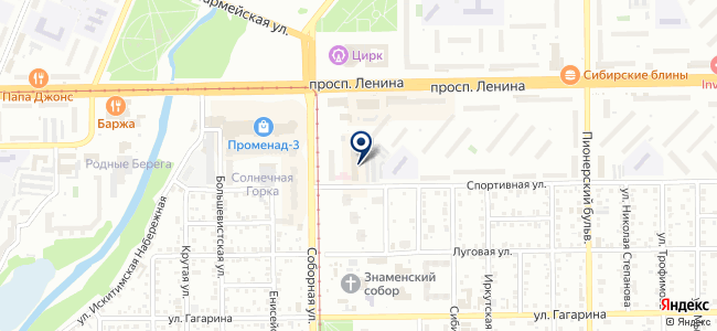 Сибирь, ООО на карте