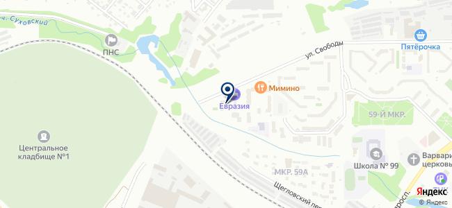 АвтоСкан-Кемерово, ООО на карте