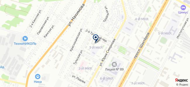 КемЭлектро на карте