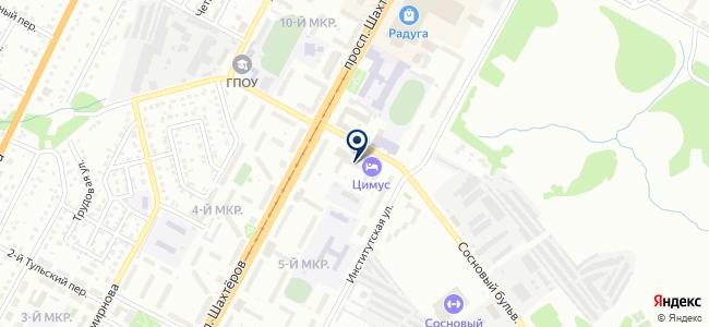 Магазин товаров для дома на проспекте Шахтёров, 48а на карте