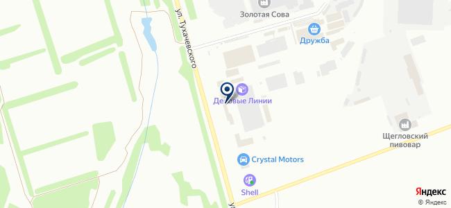 Кемеровомашоптторг, ОАО на карте