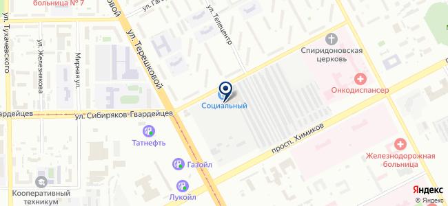 Хоздвор на карте