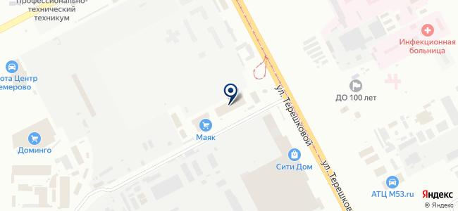 Саман на карте