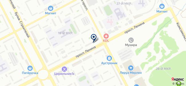 Воздух, ООО на карте