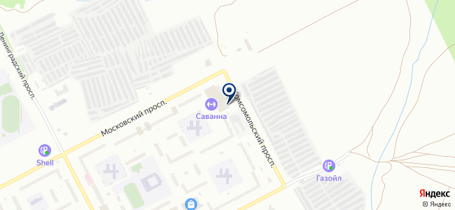Цестус, ООО на карте