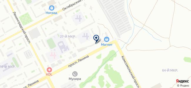 ДВС на карте