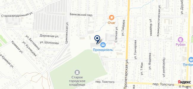 Промдеталь, ООО на карте