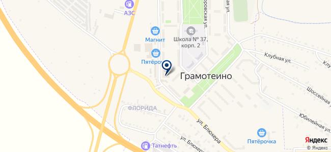 Мотоблок на карте