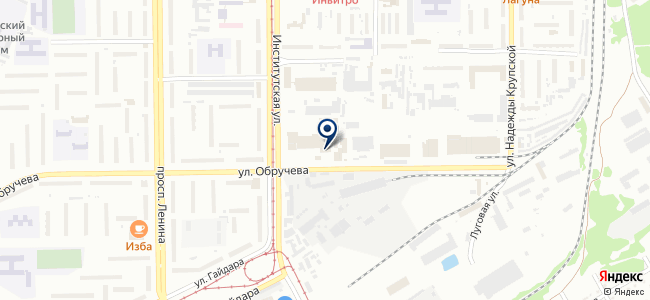 Электростройкомплект на карте
