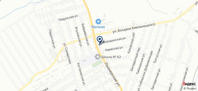 Компания Юниверс, ООО на карте