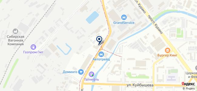 Авто-Дуэт, ООО на карте