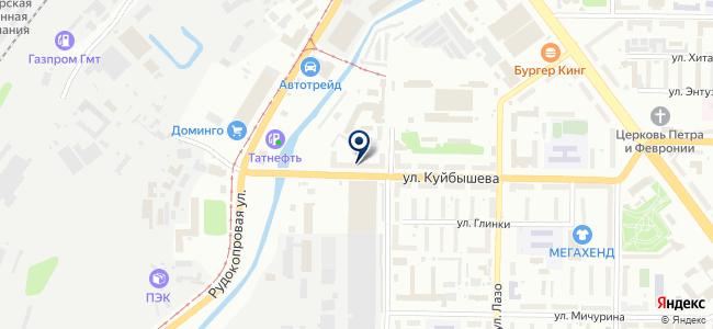 АВИСТО на карте