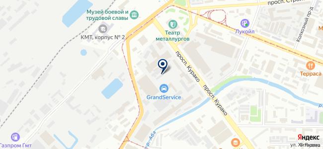 Квадрат, ООО на карте