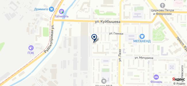 Сибирская Торговая Промышленная Компания, ООО на карте