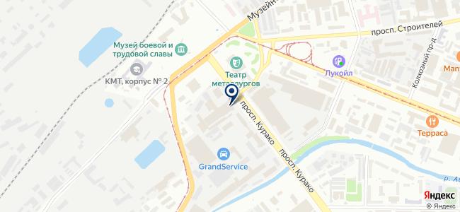 Запсибэлектромонтаж, ОАО на карте