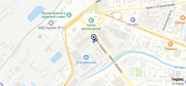 Автотранспортное предприятие Новокузнецкого Муниципального района, МКП на карте