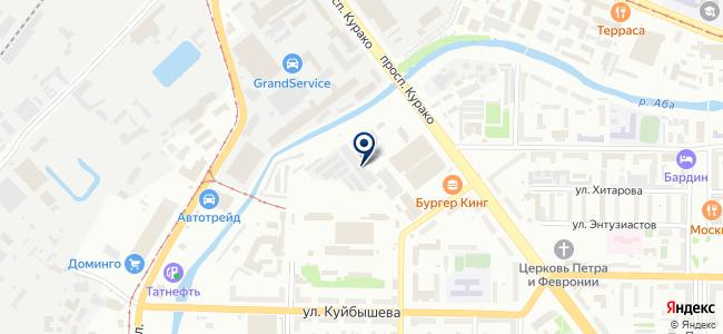 Мотор на карте