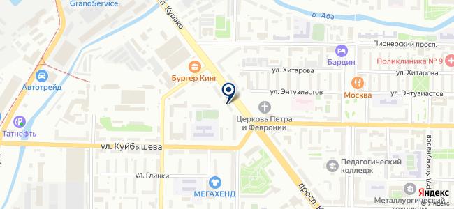 Антенна на карте