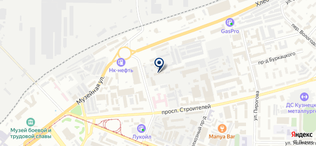 2К Групп на карте