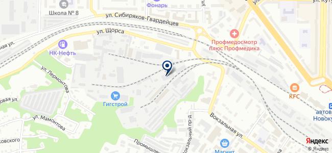 Современные Сетевые Технологии, ООО на карте