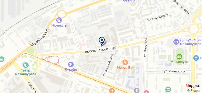 Центр противопожарной защиты-Кузнецк, ООО на карте