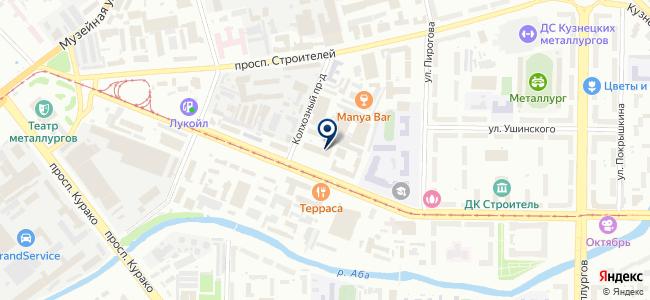 ТЭТ-РС, ЗАО на карте