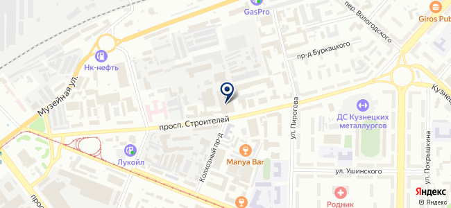 БМВ-Трейд на карте