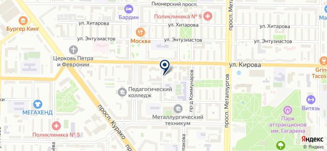 Энергостроитель, ООО на карте